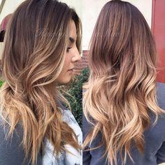 Lovely sombre hair inspiration <3