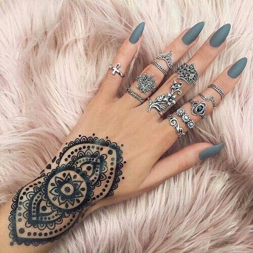 Tatuaż Na Dłoni Damskie Inspiracje Twoje źródło Inspiracji
