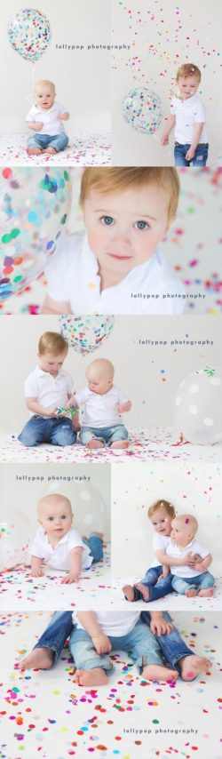confetti mini sessions
