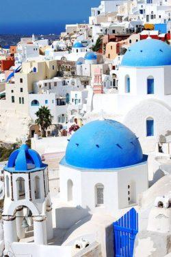 Santorini, Grecja i Santorini Grecja