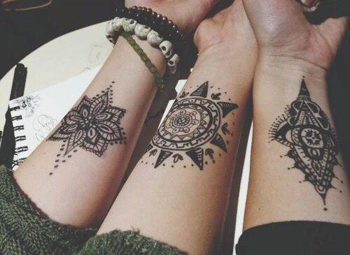 Tatuaże Henna Damskie Inspiracje Twoje źródło Inspiracji