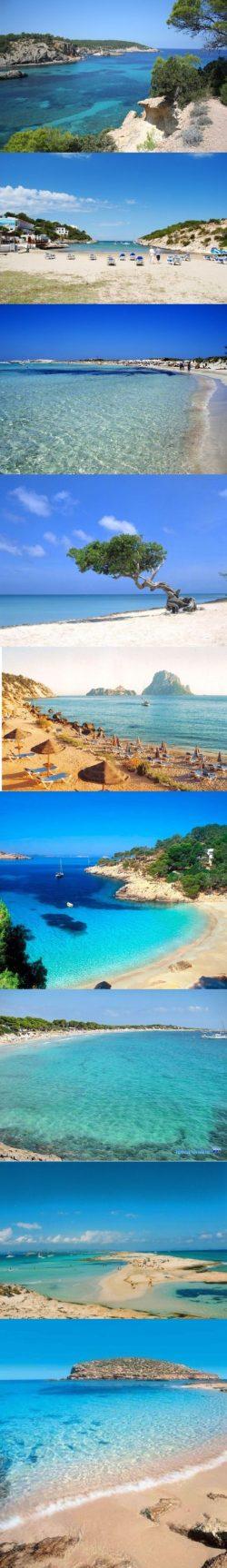 Ibiza, Plaże i Hiszpania