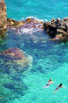 recja, Wyspy i Niebieski