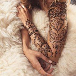 Tatuaż, rekaw