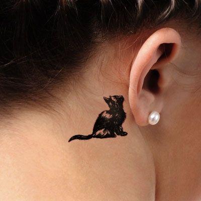 Tatuaże Z Kotami Tatuaże I Koty Damskie Inspiracje