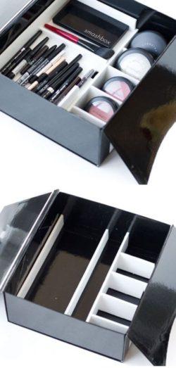Przechowywanie Akcesoriów Do Makijażu, Pomysły Na Przechowywanie i Pudełka Na Prezenty