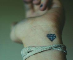 Tatuaż Diament Damskie Inspiracje Twoje źródło Inspiracji