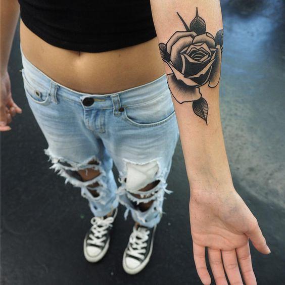 Tag Moda Tatuaż Róza Ręka Damskie Inspiracje Twoje