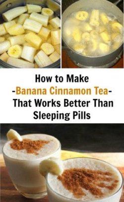 Koktajl bananowy z cynamonem