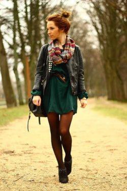 Jesien, outfit