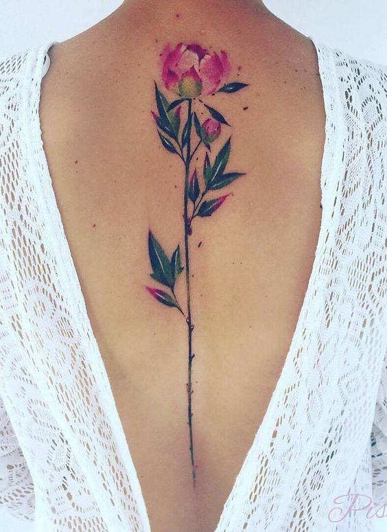 Miejsca Na Tatuaż Plecy Damskie Inspiracje Twoje źródło