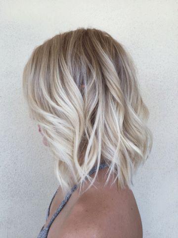 Fryzury Z Krótkich Włosów Blond Damskie Inspiracje