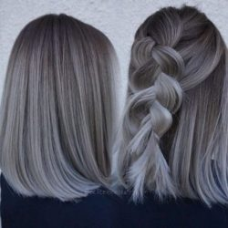 Ombre hair, warkoczyk