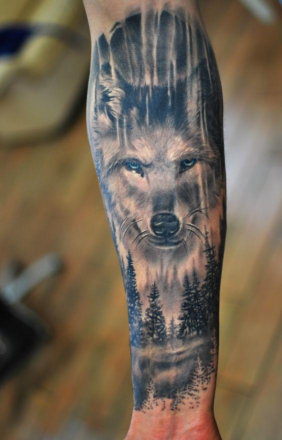 Wilki Tatuaż Damskie Inspiracje Twoje źródło Inspiracji