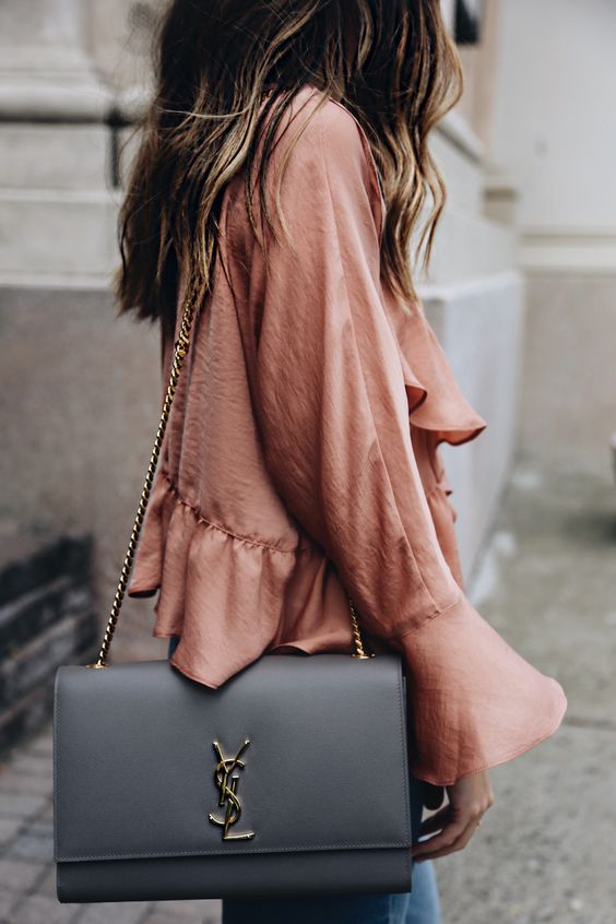 YSL bag, fashion