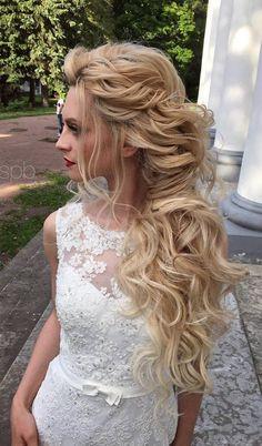 Piękne fryzury blond
