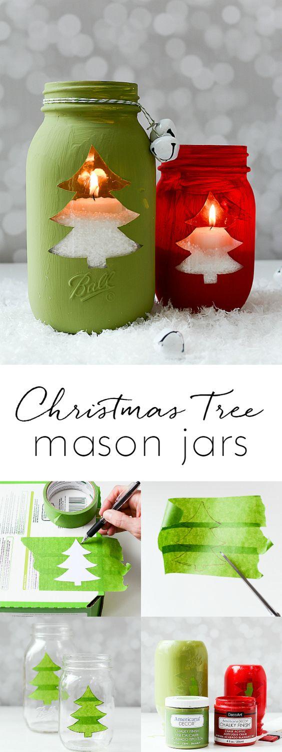 Lampiony, DIY, ozdoby świąteczne, Pomysły