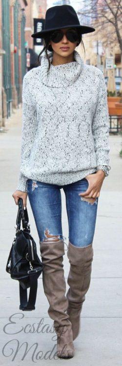 Kozaki za kolano, Moda