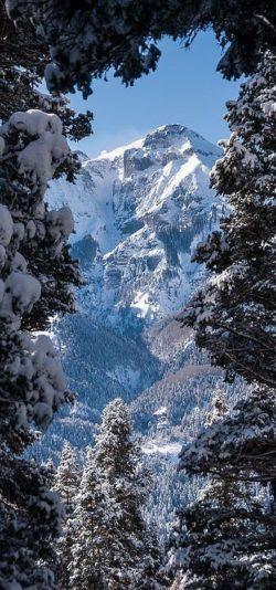 Śnieg góry, klimat