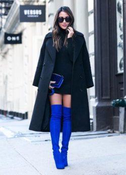 Kobalt, kontrast, Moda