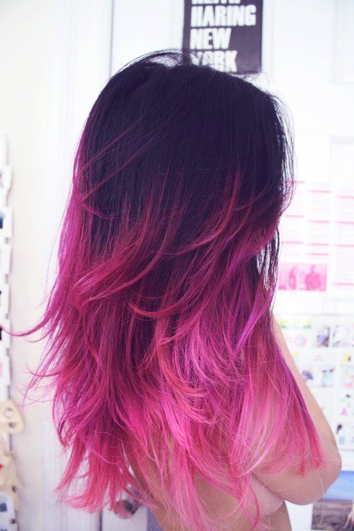 Pink Hair Ombre Damskie Inspiracje Twoje źródło Inspiracji