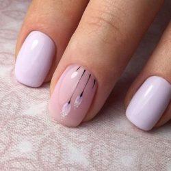 Tag Paznokcie Pink Pudrowyróż Róż Brokat Hybryda Damskie