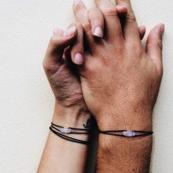 Love, miłość, bransoletki dla par