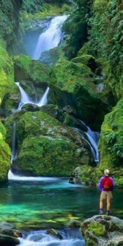 Nowa zelandia, krajobraz