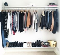 Garderoba, wnętrza