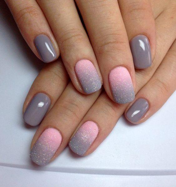 ombre nails <3