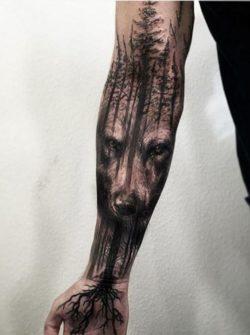 Tatuaż, rękaw