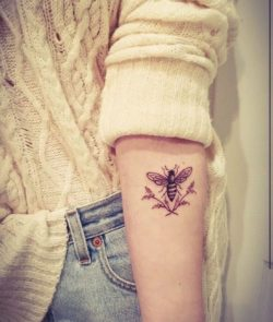 Tatuaże, osa