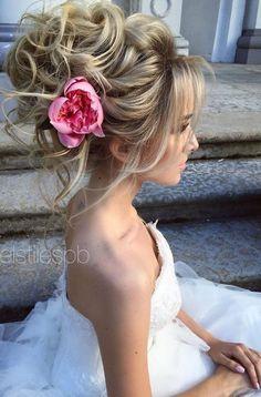 Fryzury ślubne, moda