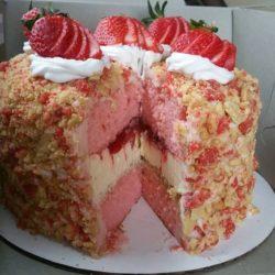 Ciasto truskawkowe ♡♡♡