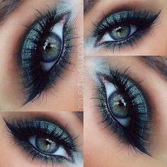 Makijaż oka ♡