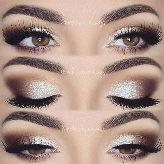 Makijaż oka, cienie