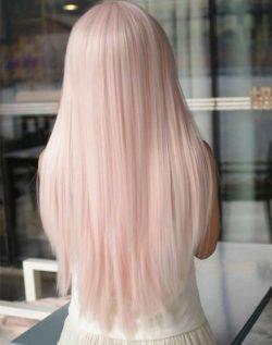 Piękne włosy, pink