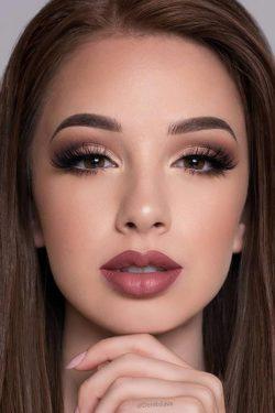 Makijaz,delikatny, kobieta