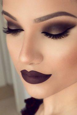 Piękny makijaż wieczorowy