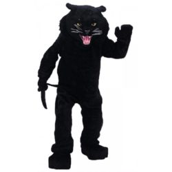 Adult Black Panther Mascot Costume