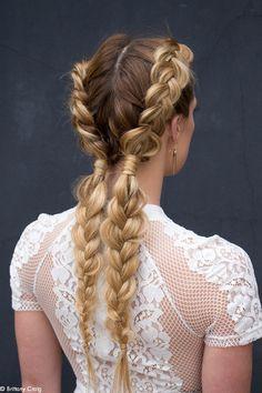 Piękna fryzurka