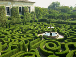 Portugal, 18th Century maze